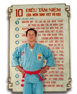 Vovinam viet vo dao Maître Tran Huy Phong
