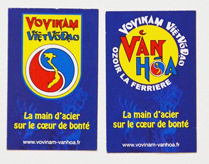 Les magnets Văn hóa Vovinam