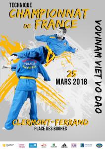 championnat de France vovinam 25_03_2018